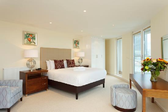 SACO Canary Wharf - Trinity Tower: Bedroom
