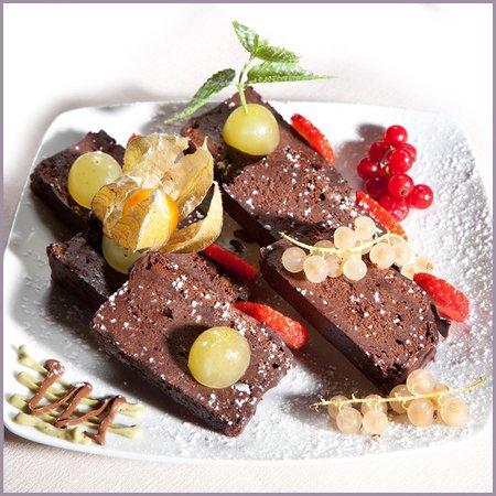Ristorante Pepe Nero: dolce al cioccolato