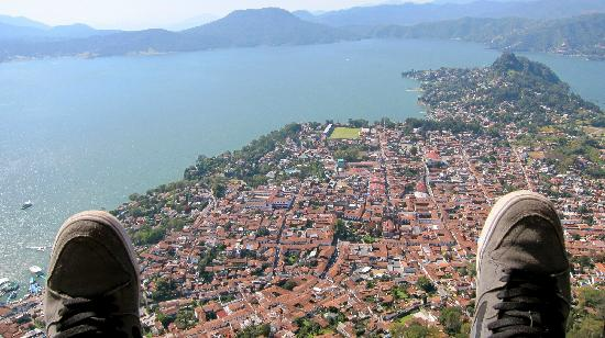 bird's eye of beautiful Valle de Bravo