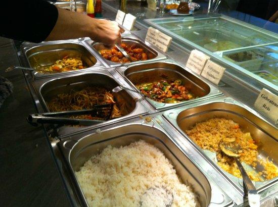 China Restaurant Shanghai: Mittagsmenü