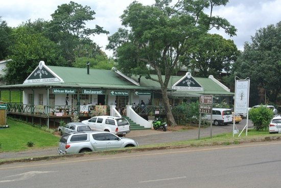 Sabie, Sydafrika: Beautiful spot but beware of the waitress!