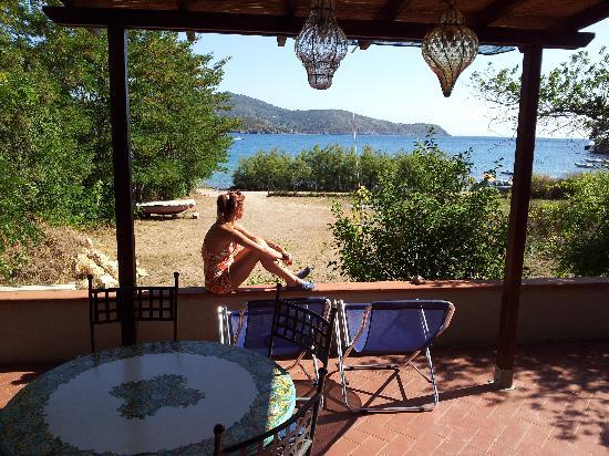 Le Acacie Hotel & Residence: veranda