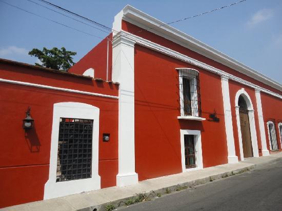 Hotel Boutique Hacienda del Gobernador : Street view