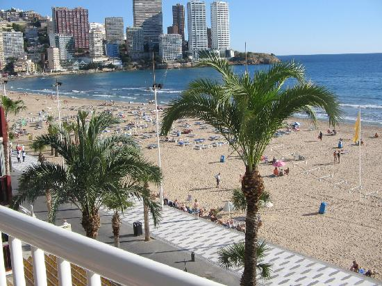 Apartments Torre Yago: View from Balcony