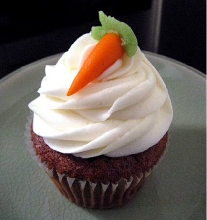 Pastries of Denmark: Carrot Cake cupcake