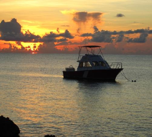 Sunset House dive boat
