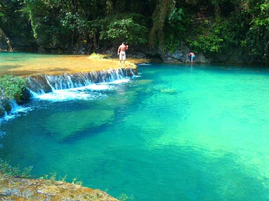 Quetzalroo: One of the pools of Semuc Champey