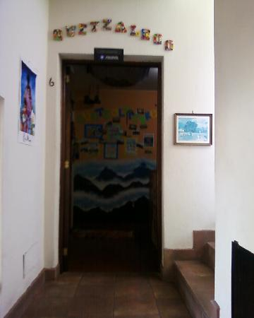 Entry door to Quetzalroo suite