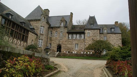 Chateau Hotel de Brelidy : L'entrée