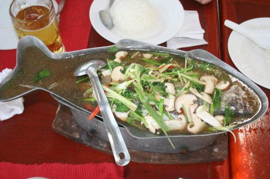 Palaad Tawanron: tasty food