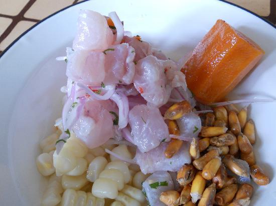 La 73 Paradero Gourmet: ceviche plate