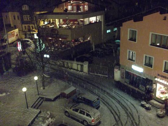Hotel Neue Post: Abendlicher Ausblick