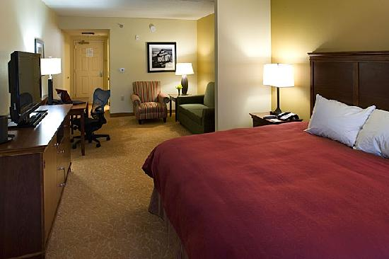 Country Inn & Suites By Carlson, Knoxville at Cedar Bluff: King Studio offers Large Sitting Area