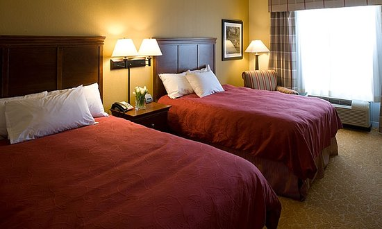Country Inn & Suites By Carlson, Knoxville at Cedar Bluff: Double Queen Standard Guest Room