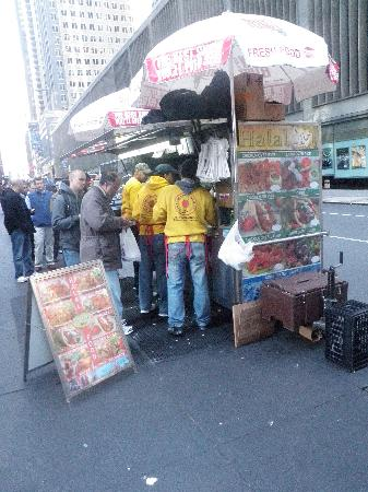 53rd & 6th Halal: The guys across the street