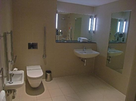 Disabled wet room picture of the nadler liverpool for How to put in a wet room