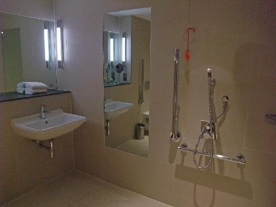 Disabled wet room 2 picture of the nadler liverpool for How to put in a wet room