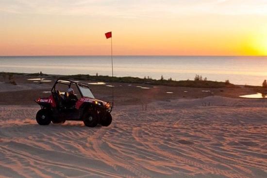 Razor J's Adventure Tours: sunset