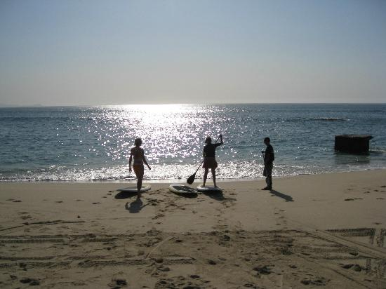 Sup Mexico Lesson At Palmilla Beach