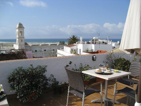 Almadraba: Vista terraza