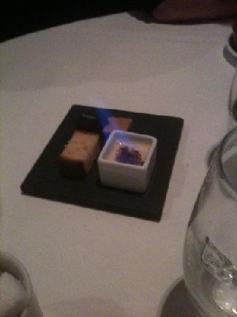 taratata: Mini Creme Brûlée on fire