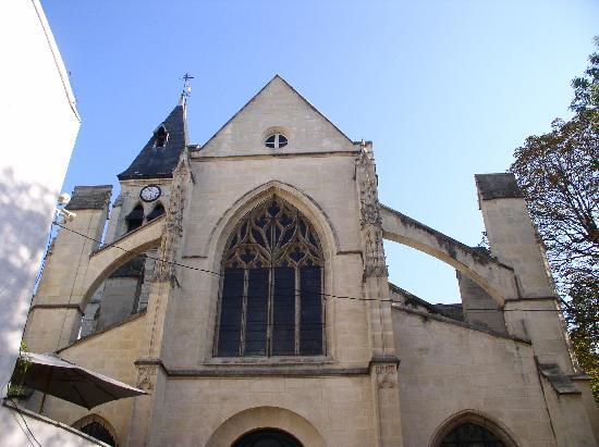 Church of Saint Medard  Picture of Rue Mouffetard Market Paris