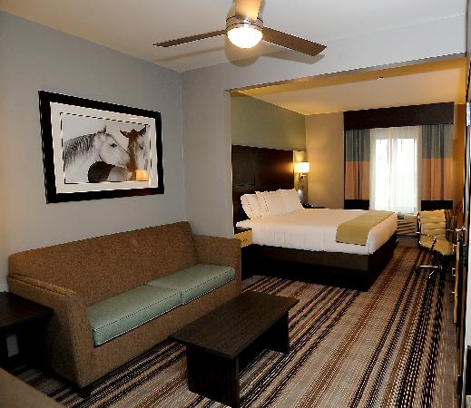 Holiday Inn Express & Suites Amarillo West: The Fabulous King Suite