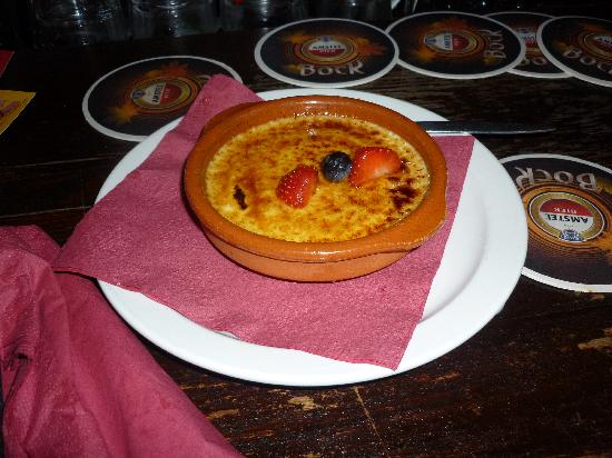 Stoop & Stoop Eetcafe: The Creme Brulee - also good!