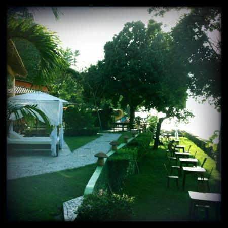 Villa Laurinda: jardin