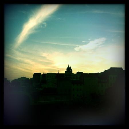 Villa Laurinda: vue de la chambre