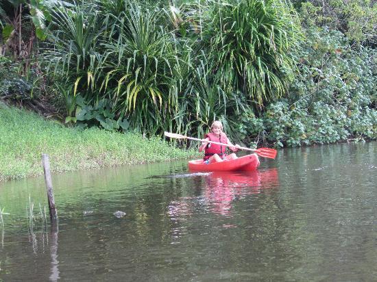 Villas de Trancoso Hotel: Kayak in Trancoso - beauty on the river!
