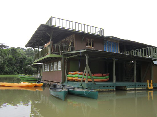 Jungle Land Panama: Day Excursions: The floating lodge