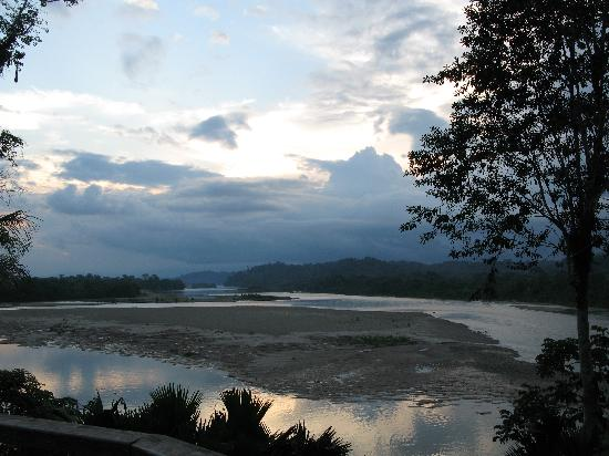 Yachana Lodge: Sunset in the Amazon