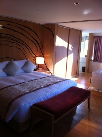 Banyan Tree Club & Spa Seoul : King size bed