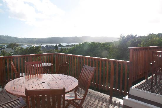 Knysna Manor House: Nicest place to have breakfast with a view of the bay