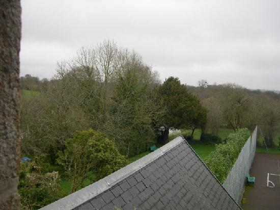 Manoir de la Foulerie: View from one of the windows in the room