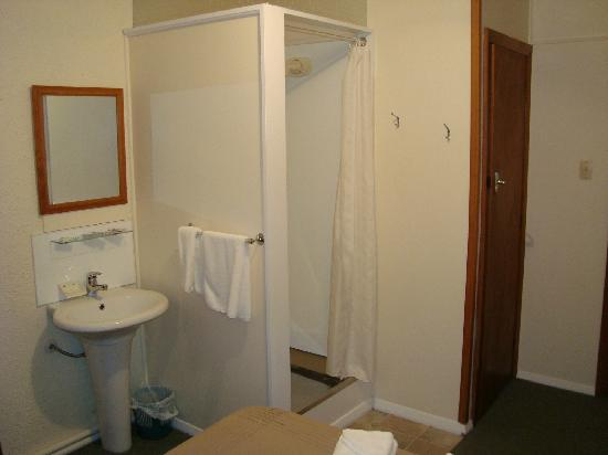 Picton House B & B: Shower and toilet area