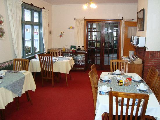 Picton House B & B: Dining room/breakfast area