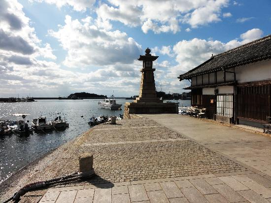 Fukuyama, Japan: Tomonoura harbour lighthouse
