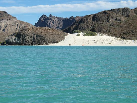 Balandra Beach : balandra even has a sand dune !