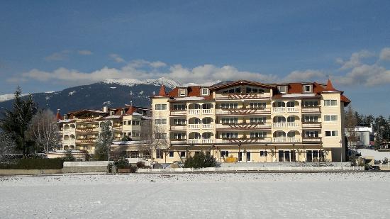 Das Majestic: l'hotel visto dagli impianti di plan