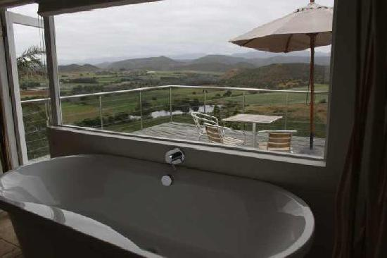 De Rust View Guest House: Bathroom of Karoo View 1