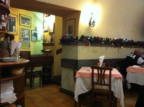Particolare di una sala foto di trattoria pizzeria le - Pizzeria le finestre roma ...