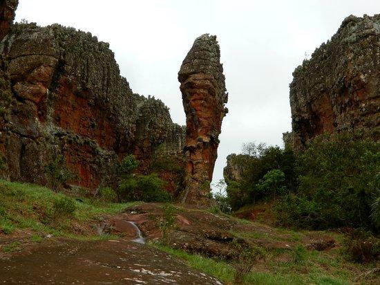 Parque Estadual De Vila Velha : Formações areníticas, Parque de Vila Velha
