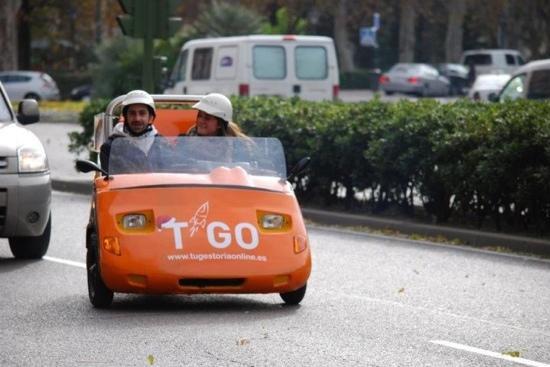 GoCar Tours Madrid: y ademas para hacer marca,mas información en el [---------]