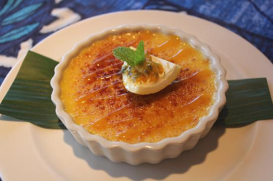 passion fruit creme brulee picture of mama 39 s fish house paia tripadvisor. Black Bedroom Furniture Sets. Home Design Ideas
