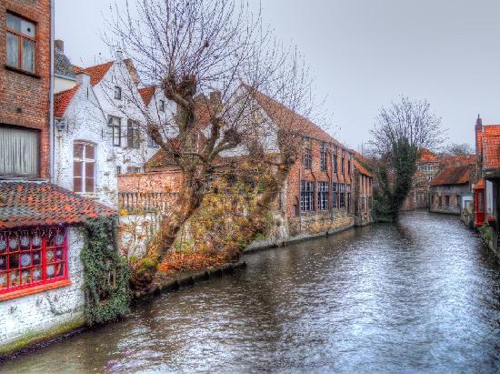 Bruges, i canali.