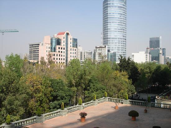Four Seasons Hotel Mexico City: View form window of suite