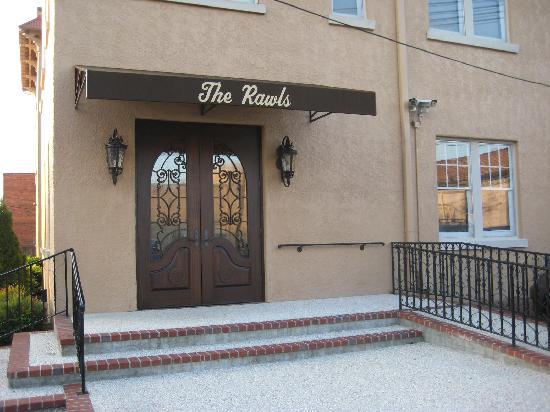 Rawls: The entrance