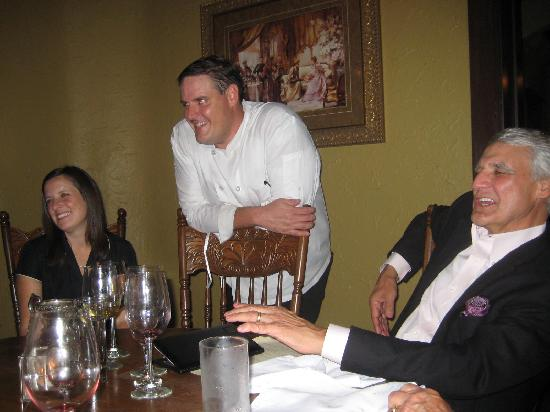 Rawls: After dinner Visit with the Chef